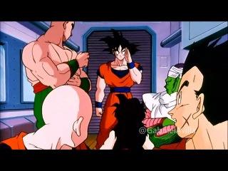 DRAGON BALL Z - Goku se cura e reencontra seus amigos [HD] PT-BR