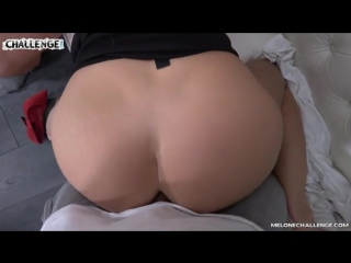 Mea malone threesome on couch