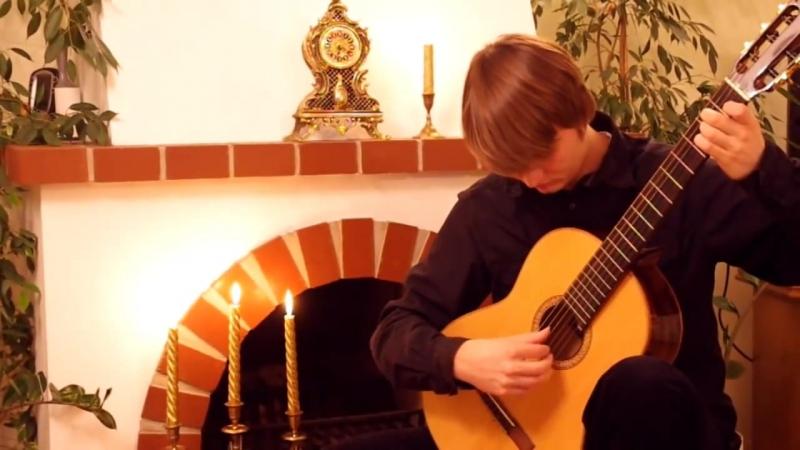 Lukasz Kapuscinski Harry Potter Acoustic Guitar Medley with TABs