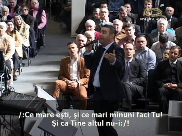 Vasile Oprea Vrednic eşti de cinste Biserica Penticostala Albini