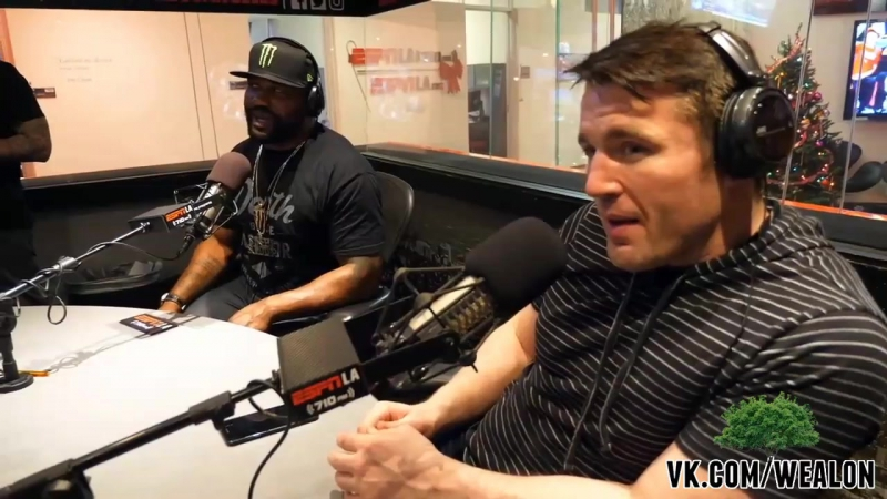 Rampage Джексон предложил Чейлу Соннену пари русская озвучка от My Life is MMA