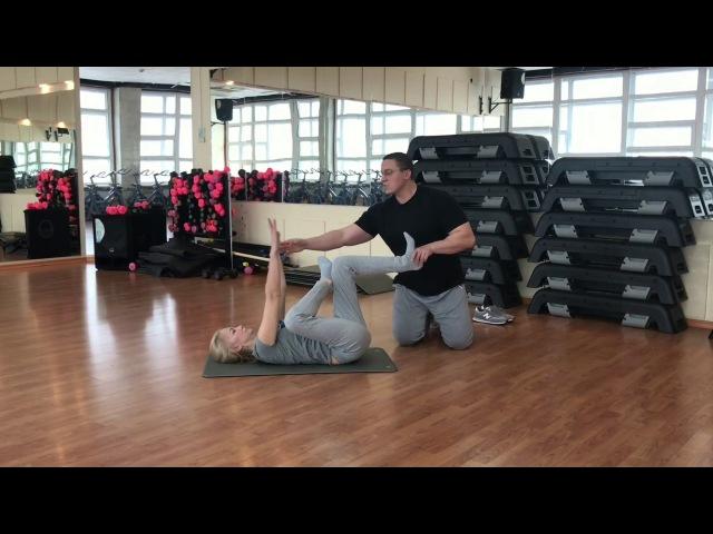 Опущение внутренних органов. Гимнастика Манохина. Gymnastics of Manokhin.