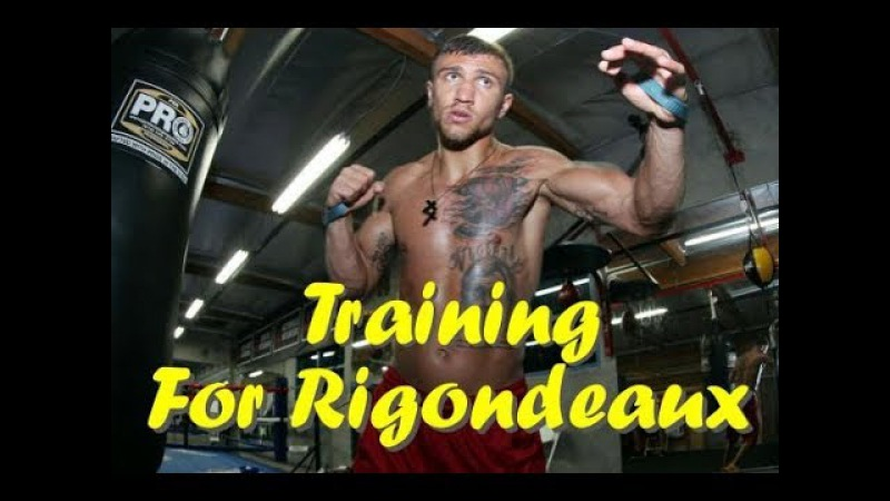 VASYL LOMACHENKO TRAINING FOR GUILLERMO RIGONDEAUX | COMPILATION