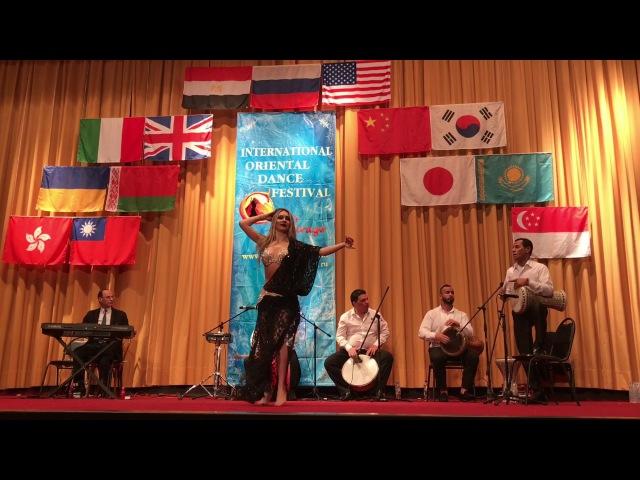 Anna Samoteeva Cairo Mirage 2017 Baladi Drum 3rd place