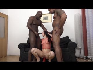 Catrine Love - Double Penetrate Me NOW [DP, IR, Big Black Cock, Anal, 1080p]