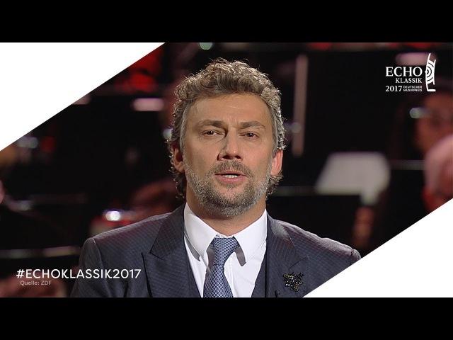 ECHO KLASSIK 2017: Jonas Kaufmann | Auftritt