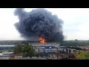 Пожар в Ногинске возле тюрьмы 23 августа 2016 года