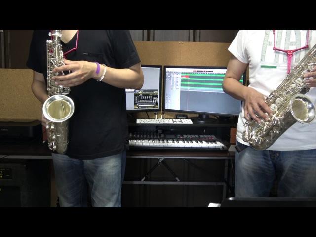 Macross Delta Giraffe Blues Alto Sax Cover con RealGuitar RealLPC Amplitube BFD3 マクロスデルタ ワルキューレ
