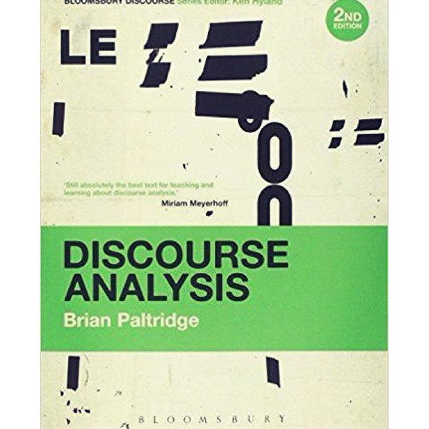 Discourse Analysis An Introduction 2nd edition