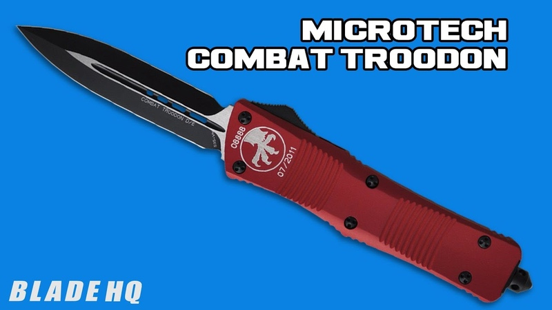 Microtech Combat Troodon OTF Automatic Knife