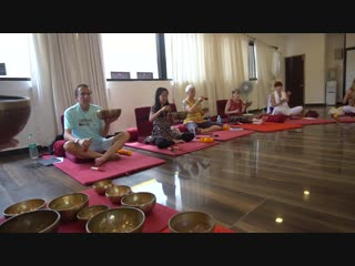 Tibetan Singing Bowls  Sound Healing Teacher Training Course In Rishikesh North Goa