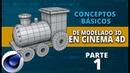 Conceptos básicos de modelado en Cinema4D ::: Parte 1
