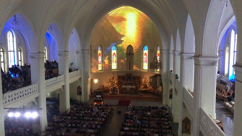 Сулико. Грузинский хор и орган