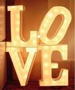 Буквы LOVE — Нижний Новгород — Аренда на свадьбу | группа