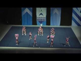 Cheerleading .Junior Cheer All Girl Elite Slovenia Sovice.