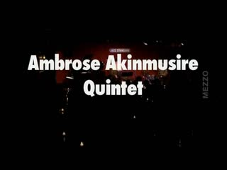 Ambrose Akinmusire Quintet - Jazz Mix Festival in NYC 2008