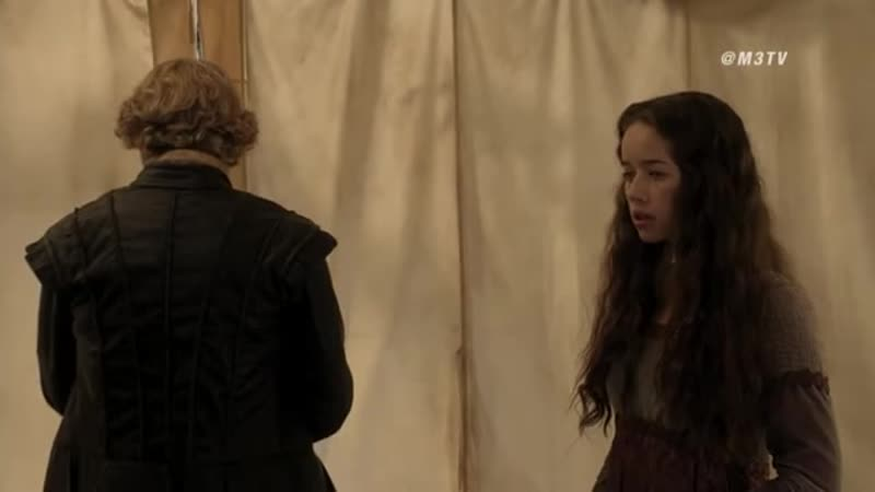M3 Reign Royal Baby Interview with Anna Popplewell Toby Regbo 2014