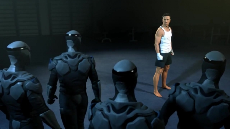 Брюс Ли против Донни Йена Мечта Воина Bruce Lee VS Donnie Yen animation A