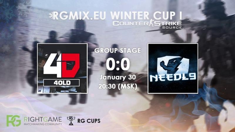 RGMIX.eu Winter Cup 1 [Needl9 vs 4OLD ] Group B