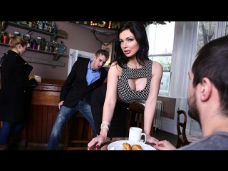Aletta ocean & danny d [hd 720, big tits, waitress, brunette, work fantasies]