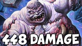 448 Damage Abomination Combo [Hearthstone]