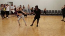 Carolina Kizomba and Enah Lebon's urban kiz dance workshop at 2018 LA Summer Bachata Festival