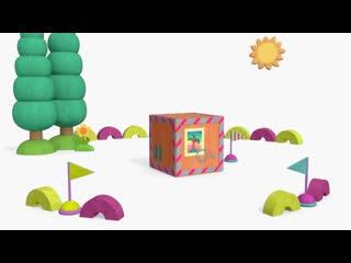 Новыи сборник - Деревяшки мультики для самых маленьких