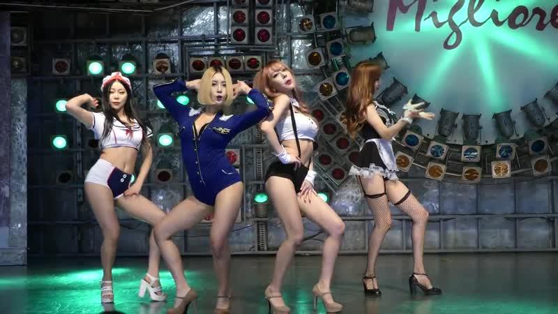 171029 걸크러쉬 Girl Crush 엉덩이 프로젝트신발 직캠