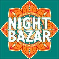 Логотип  NIGHT BAZAR