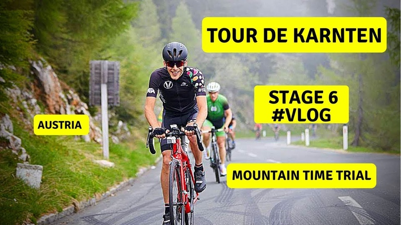 Велогонка Tour de Karnten | Mountain Time Trial | 6 Stage | Cycling Race with Telemetry | VLOG