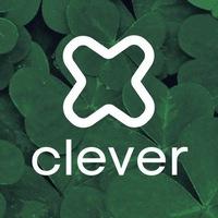 Логотип Clever агентство маркетинга (Клевер)