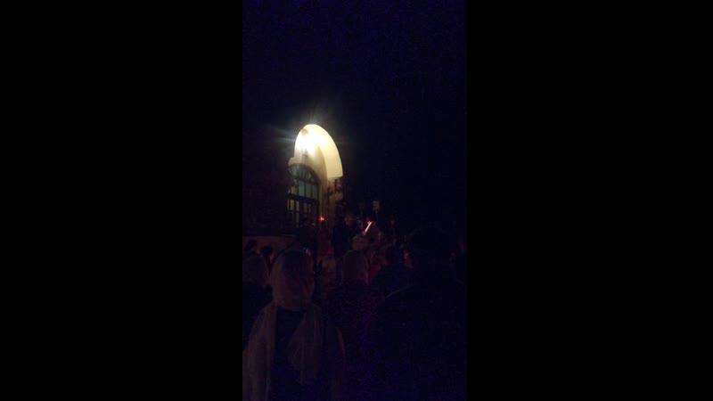 Христос воскресе храм Николая чудотворца Бутурлино