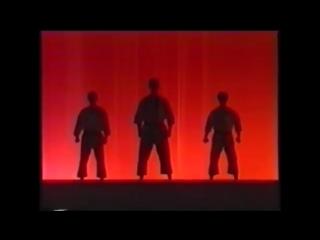 Karate shotokan ryu asai ha sensei tetsuhiko asai kihon and kata