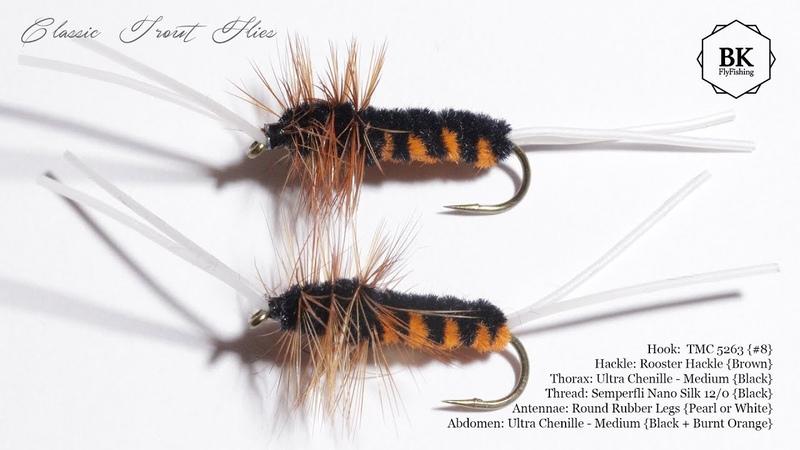 Tying Bitch Creek Stonefly Nymph Nymphs by BK