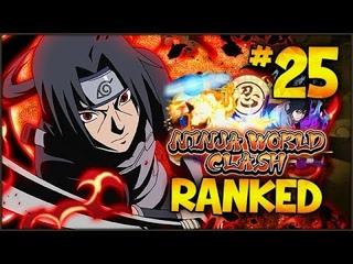 UNBEATABLE TEAM! 20 GAME WINSTREAK? Ninja World Clash PvP RANKED #25 | Naruto Ultimate Ninja Blazing