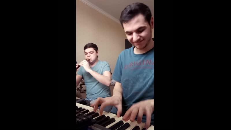 Aram Margaryan Martin Margaryan - Одна любовь (Duduk cover)