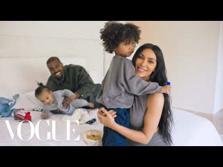 73 Questions With Kim Kardashian West (ft. Kanye West) - Vogue