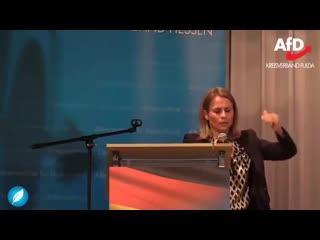 EU-Superstaat- Der Plan von Merkel- Juncker und Macron- - Corinna Miazga in Fulda am 23- Mai 2019