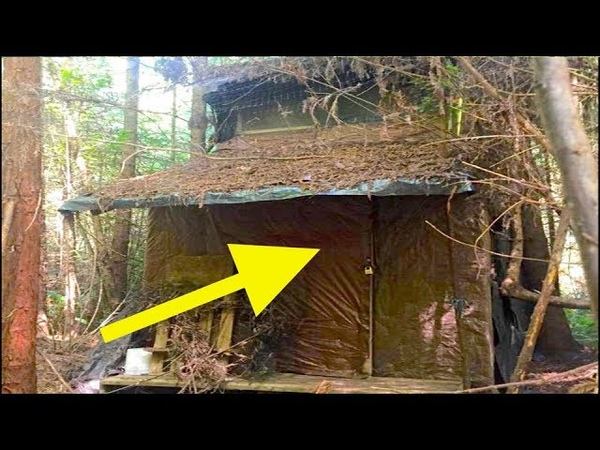 Лесник нашел загадочную хижину в лесу Когда он вошёл внутрь его ожидал огромный сюрприз