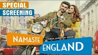 """""""Namaste England"""" Movie Special Screening   Arjun Kapoor   Parineeti Chopra"""