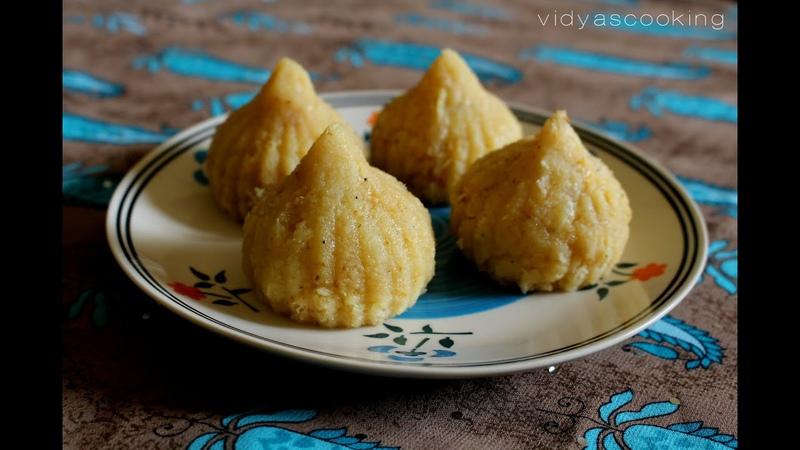 Coconut and Mawa Modak Recipe
