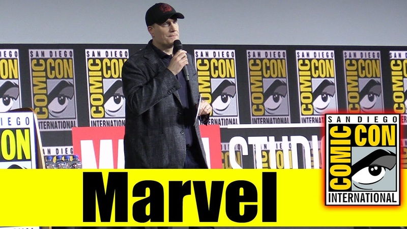 MARVEL | Comic Con 2019 PANEL INTRO (Kevin Feige, Jessica Chobot)