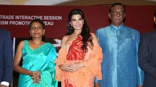 Jacqueline Fernandez At Sri Lanka Tourism Promotional Bureau Press Conference