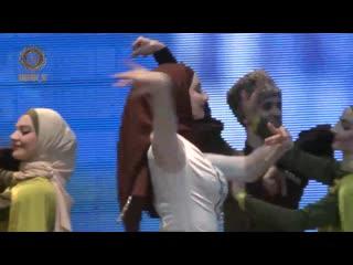 """Итоговый концерт Чеченского государственного ансамбля танца """"Вайнах"""" ."""