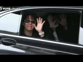 vhope have a great time in the same car (190430)