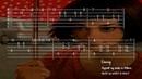 Yann Tiersen La Valse d'Amelie Full Acoustic Guitar Tab by Ebunny Fingerstyle How to Play