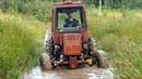 Турбо-трактор Первые метры спустя много лет! Часть 3 ВОВКА