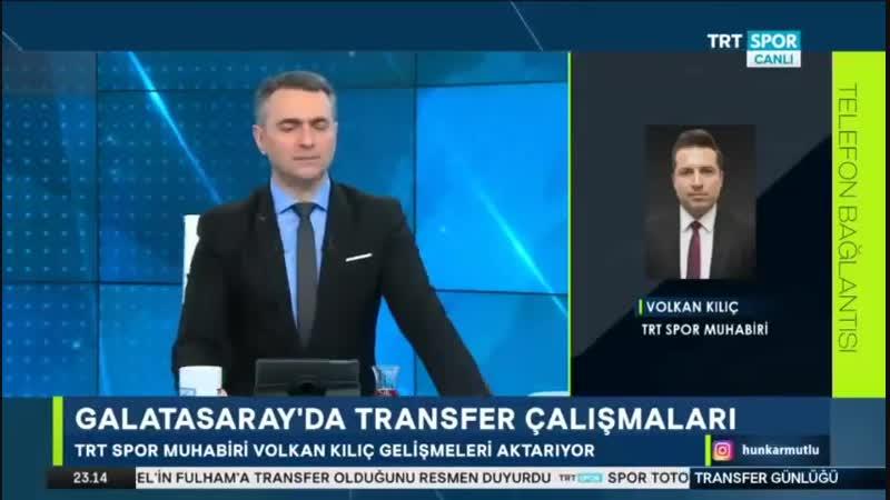 Galatasaray Transfer Günlüğü ¦ Trtspor 15 Ocak ¦ Abdurrahim Albayrak Açıklaması Forvet Transferi