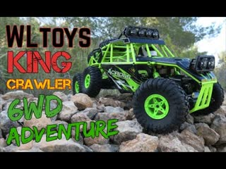 WLtoys 18628 6WD Crawler King RC ibiza adventure  First Test  6x6 RC truck @ songoland