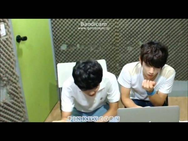 130725 SEVENTEEN TV Jisoo Junghan pair bracelets JIHAN